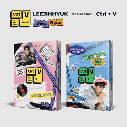 [세트] 이진혁 (LEEJINHYUK) - 미니4집 [Ctrl+V]
