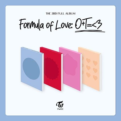 [예판특전] 트와이스(TWICE) - 정규3집 [Formula of Love: O+T=<3]